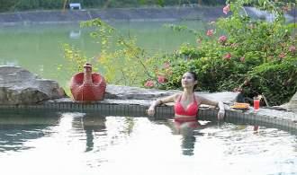 惠州龙门温泉大观园、1正1早自助餐2天(涛景/怡景高双房)