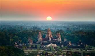 暑期爆款【品味 柬埔寨大小吳哥雙飛6天 午機往返】  情迷塔普倫神廟  光影吳哥  穿梭集裝箱夜市 天使之湖